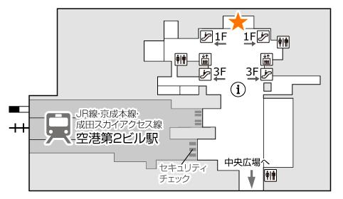 イモトのWiFiの成田空港でのレンタル(受取・返却)手順まとめの画像13