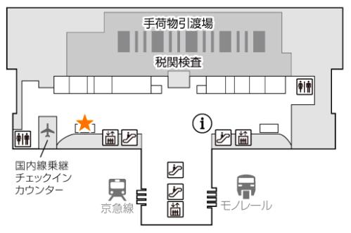 イモトのWiFiの羽田空港でのレンタルまとめの画像6