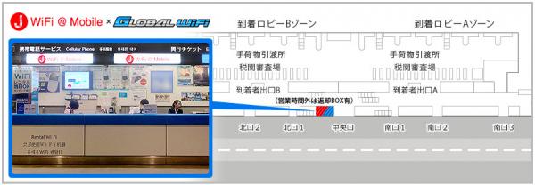 グローバルWiFiの成田でのレンタル(受取・返却)まとめの画像8