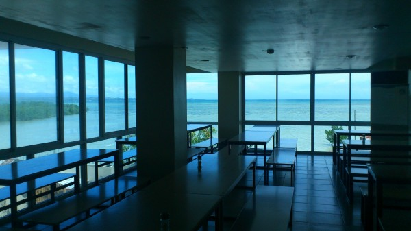 食堂からの風景