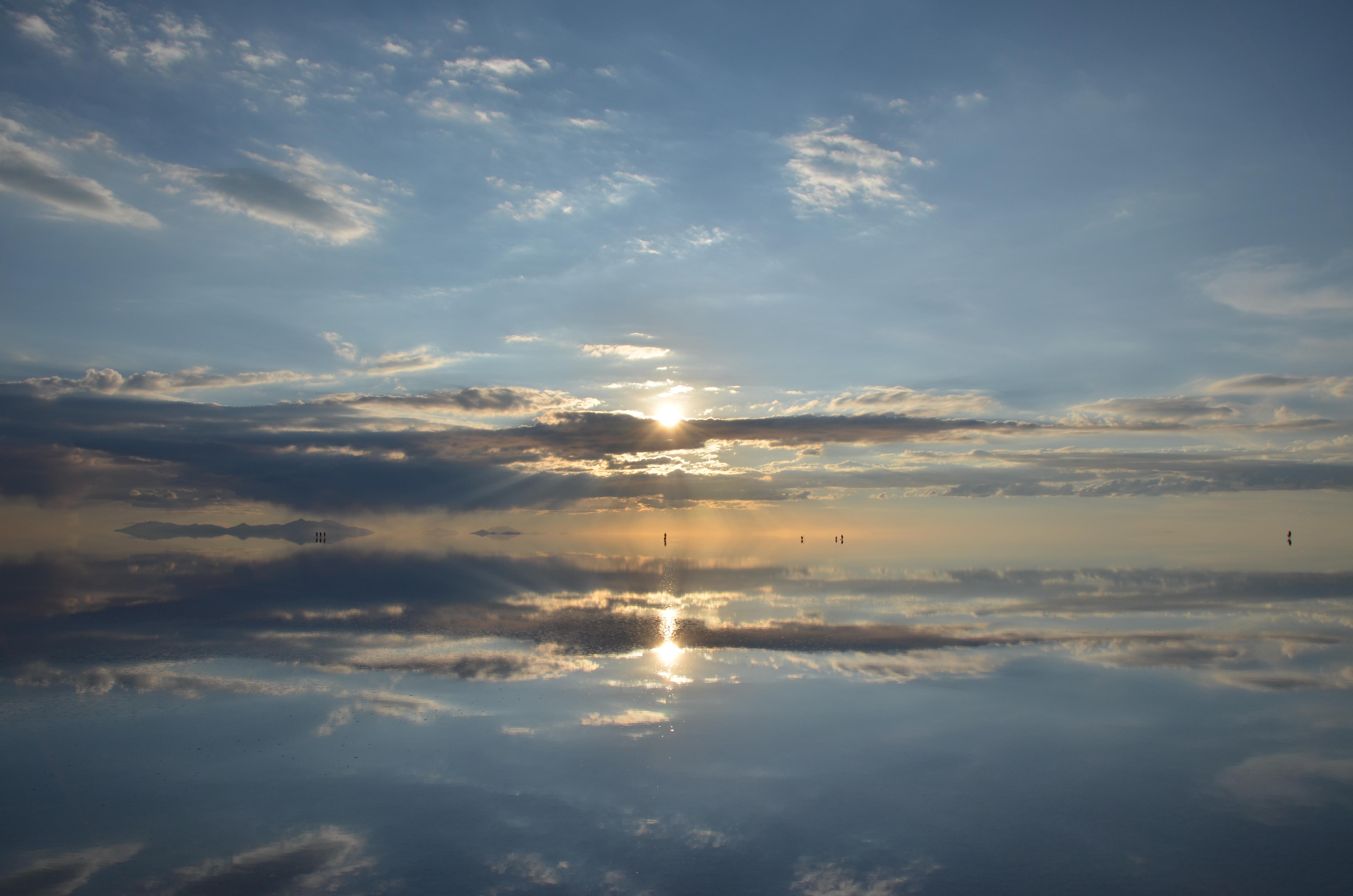 絶景!ウユニ塩湖遺跡の壁紙