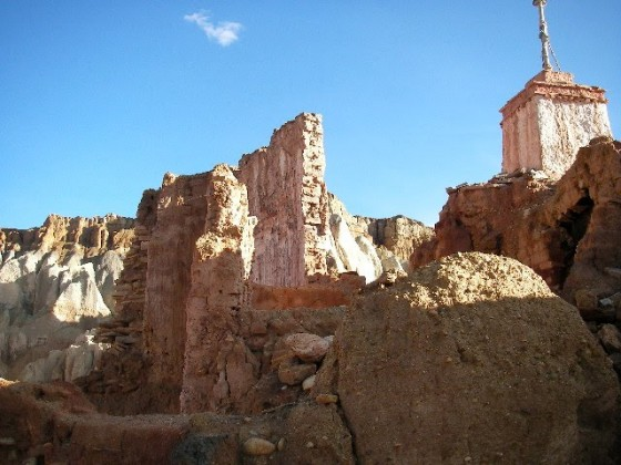 tibet19下から見えた建物