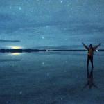 [ウユニ塩湖の夜] 「宇宙」と呼ばれる9枚