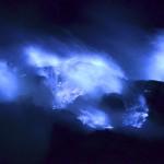 常識をくつがえす青い火山…、イジェン火山に行ってきた