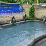 バリのキンタマーニ温泉に入ってきた