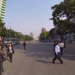 【GoProで北朝鮮ツアー】ピョンヤンを20分ノーカットでドライブした映像