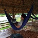 海外ノマド女子はラオスでハンモックに揺られています
