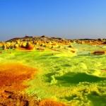 [ダナキル砂漠・ダロ-ル火山]ナメック星のような景色を理科教師が解説してみた