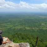 [プレアヴィヒア・カンボジア]遺跡を抜けるとそこは天空だった
