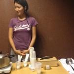 小国モナコの空手教室で「味噌汁」をふるまってみた