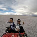 GoProでウユニ塩湖を撮影してみた