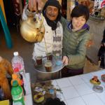 本場モロッコでミントティーの作り方を教えてもらう【みんなのあさごはん!】
