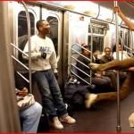 地下鉄はダンスホールではありません