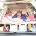 マツダのMPVで1年間、ニュージーランドを車上生活します