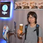 シンガポールのビール工場見学で飲んだくれてきた