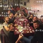 山奥のホステルに泊ったら8ヶ国19人の友達ができた話