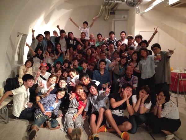 関西旅人会集合写真