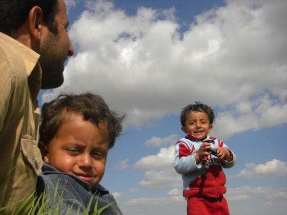 5 シリアの小学校の先生と子ども達