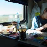 シベリア鉄道に「鶴」が舞った日