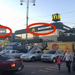 こんなのアリ!? ウクライナではマクドナルドの隣に「McFoxy」