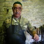 [コウノトリ型ハサミ]ウズベキスタンの凄腕職人に弟子入りしてみた