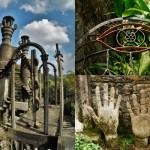 富豪が6億かけて作った奇怪な庭園!メキシコのラス・ポサスで見たもの
