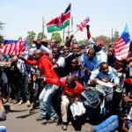 [旅のハプニング]ケニアにオバマがやってきた