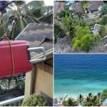 荷物が宙を舞う…!断崖絶壁のクレイジーすぎるホテル[Seafari Resort・オスロブ]