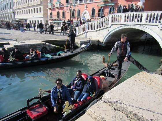 Venice-in-gondola