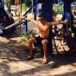 ウクライナ裏観光!屋外巨大トレーニングジム「ハイドロパーク」はマッチョの楽園だった
