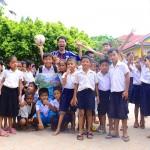 [新婚旅行で世界一周]カンボジアの小学校で世界一周のテーマについて考えた