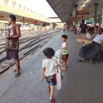 [子連れ海外旅行]ミャンマーのヤンゴン環状線でぶらり途中下車の旅