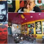 店内に麻薬王がずらり…ロサンゼルスのアウトローなタコス屋で「麻薬王のブリトー」を食べてきた