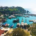 地中海リゾートとしてのトルコを見に、アンタルヤまで