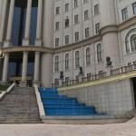 無機質、でも羨ましい。タジキスタン国立図書館の内部で行われていたこと