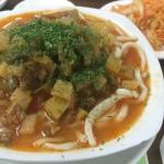 中央アジア名物・ミネストローネハヤシライスうどん…いや、ラグマンは絶対キルギスで食べて