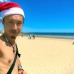 サミシマスのない世界へ〜夏のビーチで過ごすオーストラリアのクリスマスはこんな感じ