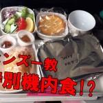 特別機内食って美味しいの…? ヒンズー教機内食を食べてみた