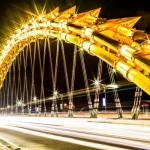 スカイツリーより長くて火炎放射もする「ドラゴン橋」を渡ってみた(ベトナム)