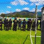 厳戒態勢の中で行われるグアテマラのサッカーはこう展開する