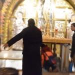 神父がキレてしまってるイスラエルのお正月(エルサレム・聖墳墓教会)